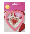 Wilton Valentine\u0027s Day Heart Shaped Comfort-Grip Cookie Cutter