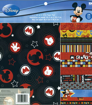 EK Success Disney Paper Pad Mickey