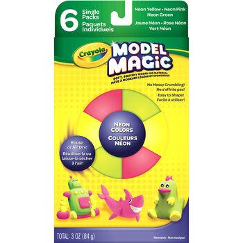 Crayola Model Magic Set 6/Pkg-Neon Colors