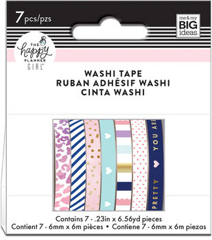 The Happy Planner Girl Washi Tape-Glam Girl