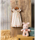 Simplicity Pattern 8347 Toddlers\u0027 Apparel & Bunny-Size A (1/2-4)