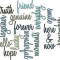 Sizzix Thinlits Dies-Friendship Script Words