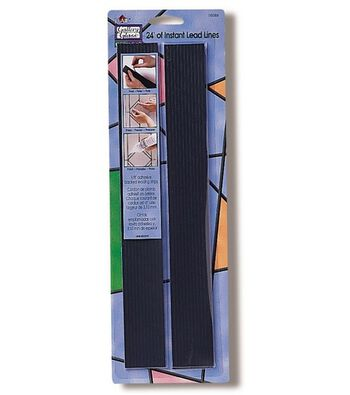 Gallery Glass Redi-Lead Strips 24 One Foot Strips