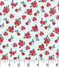 Keepsake Calico Cotton Fabric -Ditsy Floral Mint