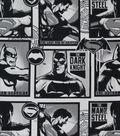 DC Comics Cotton Fabric 44\u0022-Man of Steel & Dark Knight