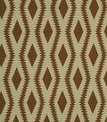 Home Decor 8\u0022x8\u0022 Fabric Swatch-Robert Allen Frontier Ogee Henna