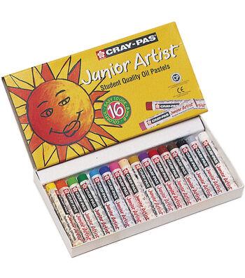 Sakura Cray-Pas Jr. Artist Oil Pastels 16/Pkg