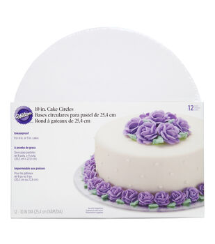 Wilton Cake Boards, Set of 12 Round Cake Boards for 10-Inch Cakes