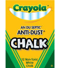 Crayola 12ct Anti Dust Chalkboard Chalk