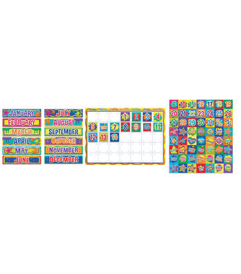 Eureka Bulletin Board Set-Color My World Calendar