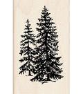 Inkadinkado Rubber Stamp-Pine Trees