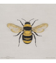 "Square By Design Woven Fabric 25""-Bumble Bee, , hi-res"