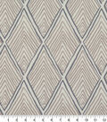 Robert Allen @ Home Print Swatch 55\u0022-Rhombi Forms Linen
