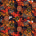 Firefighter Cotton Fabric-Abstract Geo Logo