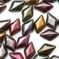 Matubo Gemduo Czech Glass Beads-Violet