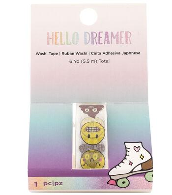 American Crafts Hello Dreamer Washi Tape 6 yds.-Emoji