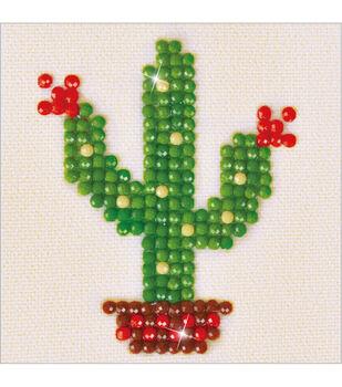 Diamond Dotz Diamond Embroidery Facet Art Kit 4.75''X4.75''-Texas Bloom
