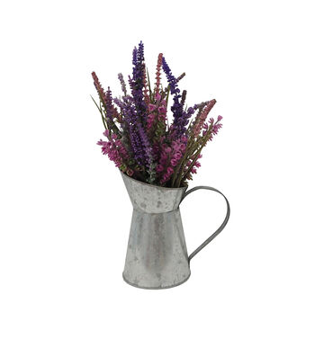 Fresh Picked Spring 11'' Lavenders in Pitcher