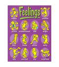 Feelings Learning Chart 17\u0022x22\u0022 6pk