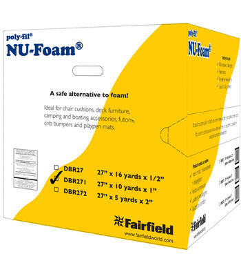 Fairfield Nu-Foam Batting 27''x1''x10yds