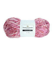 Buttercream Luxe Craft Thick & Thin Yarn, , hi-res