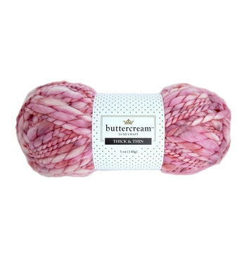Buttercream Luxe Craft Thick & Thin Yarn