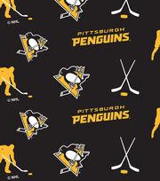 Pittsburgh Penguins Fleece Fabric 60''-Tossed, , hi-res