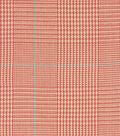 Waverly Lightweight Decor Fabric 54\u0022-Grantham Plaid/Rosehip