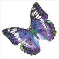 Diamond Embroidery Facet Art Kit 15\u0022X15\u0022-Flutter By Mauve