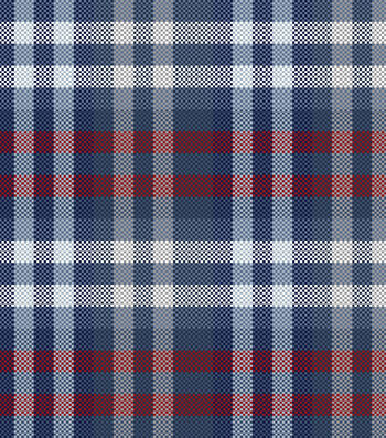 Snuggle Flannel Fabric -Independence Day Plaid