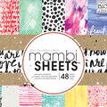 Me & My Big Ideas Mambi 12\u0027\u0027x12\u0027\u0027 Single Sided Paper Pad-Paint Palette