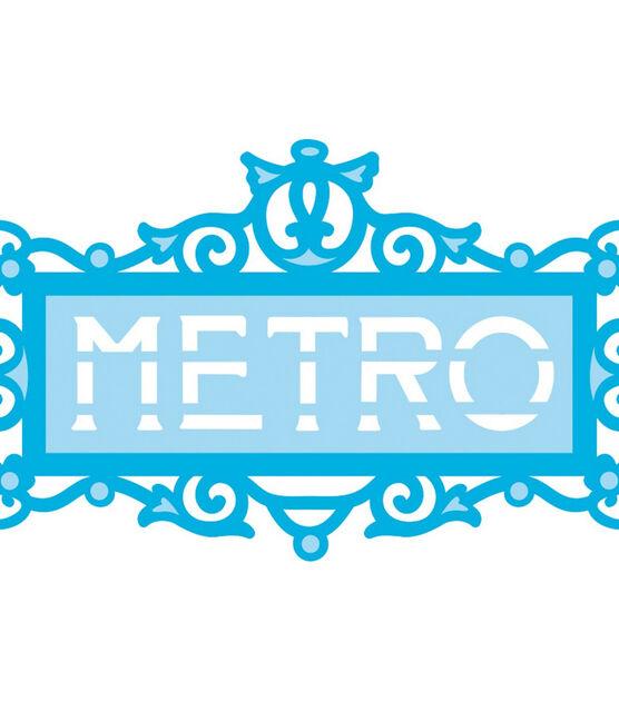 Tonic Studios Rococo Die Ornate Metro Sign, , hi-res, image 3