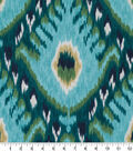 Robert Allen @ Home Print Swatch 55\u0022-Bold Ikat Aqua
