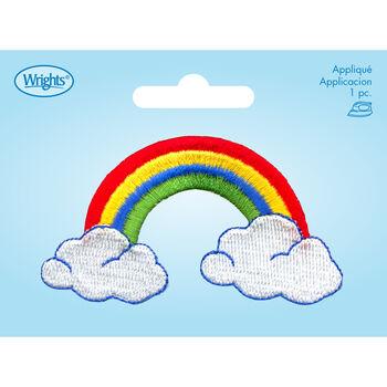 Wrights Iron-On Applique-Rainbow