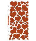 Sticko Stickers-Foil Hearts