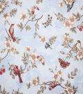 Premium Cotton Fabric-Camila Blue Birds