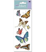 A Touch Of Jolees Dimensional Stickers-Butterflies, , hi-res