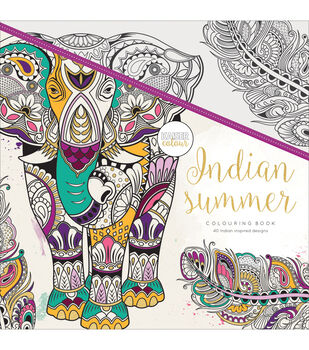 KaiserColour Perfect Bound Coloring Book Indian Summer