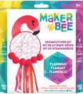 Maker Bee Dreamcatcher Kit-Flamingo