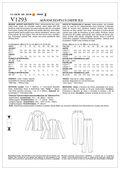 Mccall Pattern V1293 A5 (6-8-10-Vogue Pattern