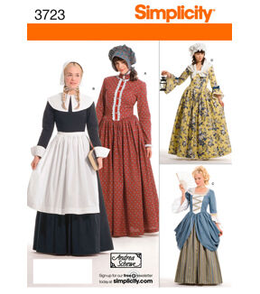 Simplicity Pattern 3723 Misses Costumes