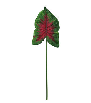 Fresh Picked Spring 8.5''x32'' Leaf Stem-Pink & Green