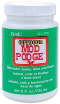 Plaid Modge Podge Outdoor Finishes and Formulas 8oz