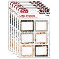 Star Wars Super Troopers Stickers 6 Packs