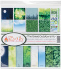 Ella & Viv Collection Kit 12\u0022X12\u0022-The Great Outdoors