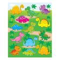 Carson Dellosa Dinosaurs Shape Stickers 12 Packs