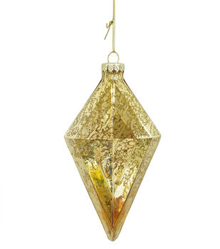 Handmade Holiday Christmas Crimson Traditions Ornament 1-Gold