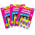 Colorful Favorites Stinky Stickers Variety Pack 300 Per Pack, 3 Packs