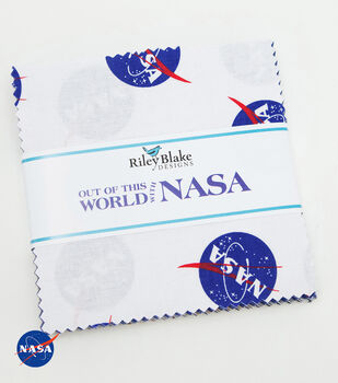 Pre-Cut Fabric-Out Of This World With Nasa by Riley Blake