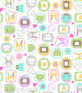 Snuggle Flannel Fabric-Framed Kitty Faces